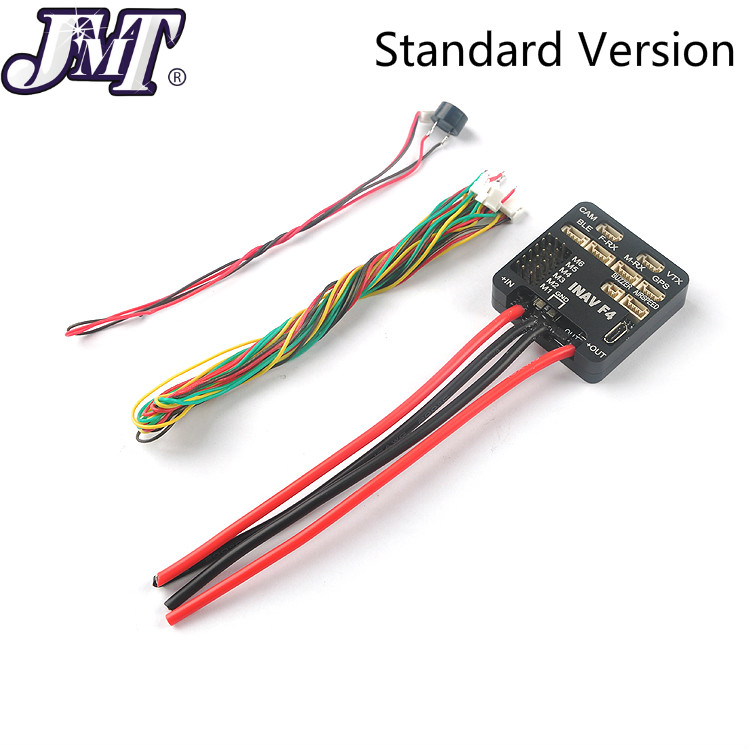 RC Helicopter Fixed-Wing F4 Flight Controller M8N GPS Airspeed Built-in OSD&Battery Voltage Current Monitor 2-6S For INAV-F4 FPV