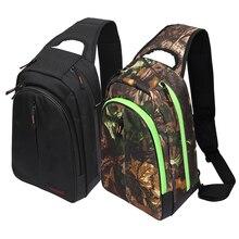 Trulinoya Outdoor Fishing Bag 600D Oxford Multi-functional Waterproof Shoulder Backpack Lure Bag 37cm*26cm*14cm
