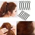 Azerin 2pcs Women Girl Fashion Styling Hair Clip Stick Bun Maker Hair Accessories Braid Tool Free Shipping