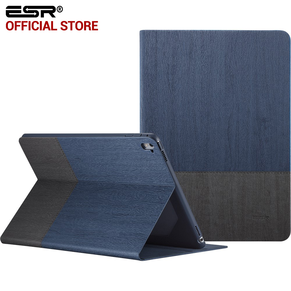 Case for iPad Pro 9.7 inch, ESR PU Leather Smart Cover Folio Stand Case Auto Sleep/Wake Function for 9.7 iPad Pro 2016 Release case for ipad pro 12 9 inch esr pu leather tri fold stand smart cover case with translucent back for ipad pro 12 9 2015 release