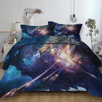 Science fiction series Star Wars spacecraft bed linen set Twin Full Queen King Super King Size Colourful Duvet Cover set bed set