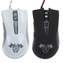 Hot 4000 DPI 7 Button LED Optical USB Wired Gaming Mouse For PC Laptop Gamer <font><b>Computer</b></font> Peripherals Mice