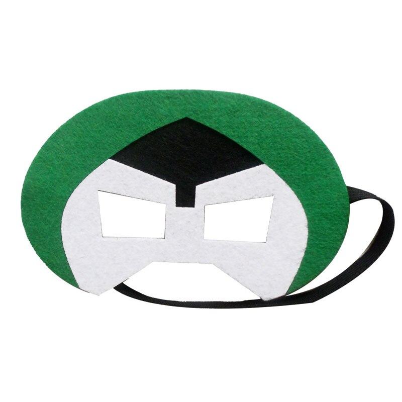 Superhero Mask Doctor Doom Childrens Day Party Supplies Christmas Wedding Decor Super Hero Masquerade Glasses Mask Kids Gift