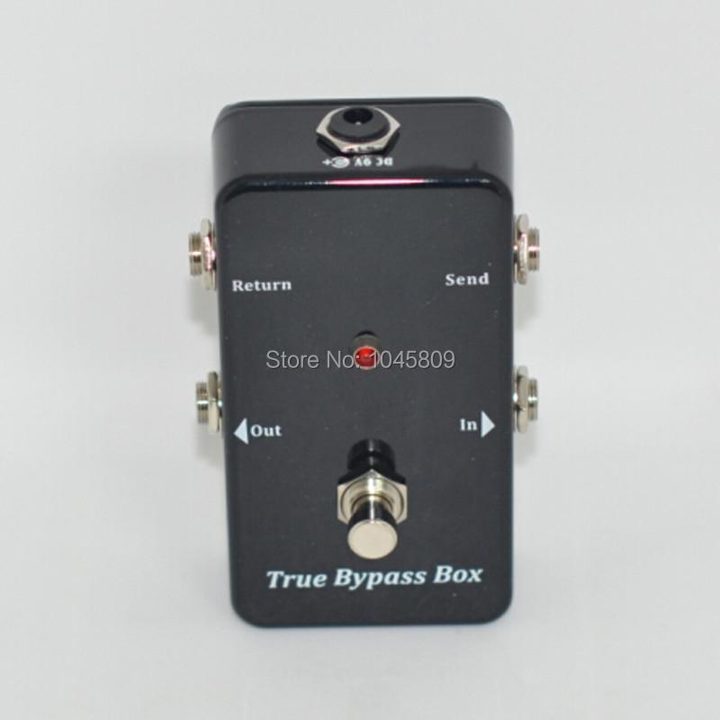 True-Bypass Looper Effect Pedal Guitar Effect Pedal Looper Switcher - მუსიკალური ინსტრუმენტები - ფოტო 6