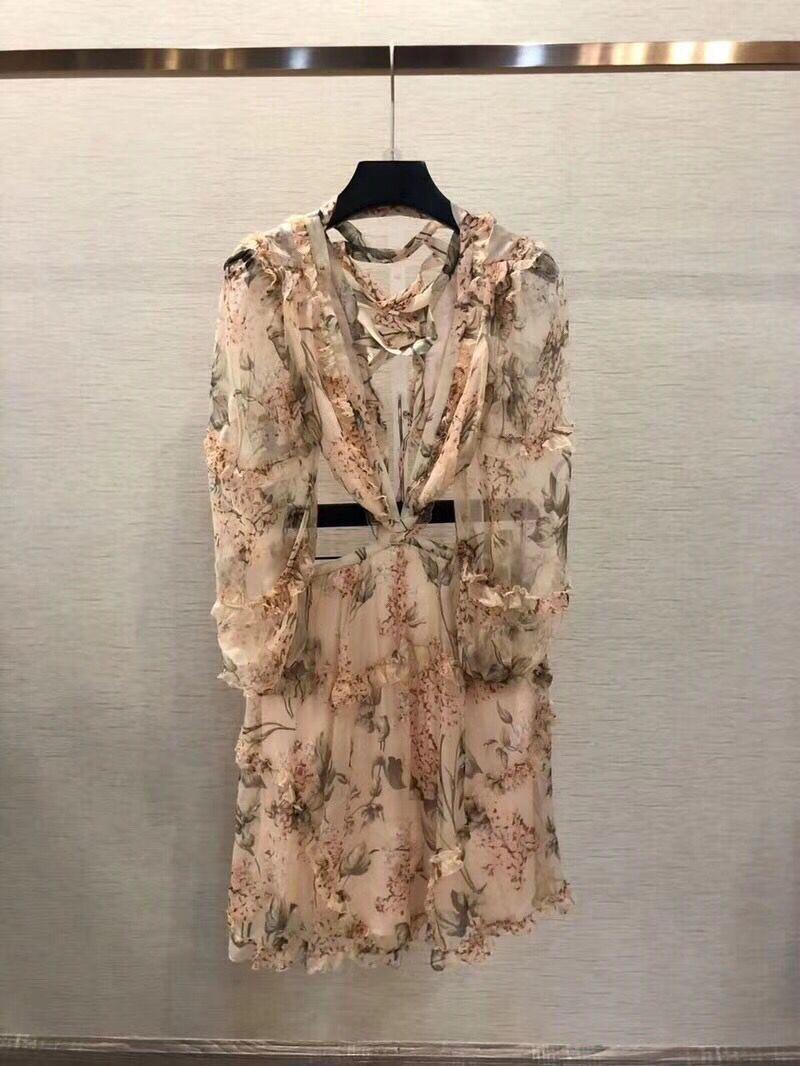 19 New summer beach mini dress woman spaghetti strap cross backless sexy deep v print bodycon vestidos fashion short dress 9