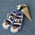 Sandálias Sapatos Verão 2016 Novo Alice No País Das Maravilhas Menina MINI Cheshire Cat Jelly Sapatos Melissa MELISSA Sandálias Infantis de Alta Qualidade