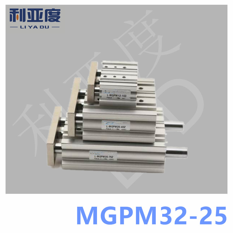 SMC Type MGPM32-25 Thin cylinder with rod MGPM 32-25 Three axis three bar MGPM32*25 Pneumatic components MGPM32X25 smc type mgpm40 25 thin cylinder with rod mgpm 40 25 three axis three bar mgpm40 25 pneumatic components mgpm40x25