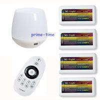 2 4G 4 Zone Wireless RF Remote 4pcs WW CW CCT LED Controller Group Control WiFi
