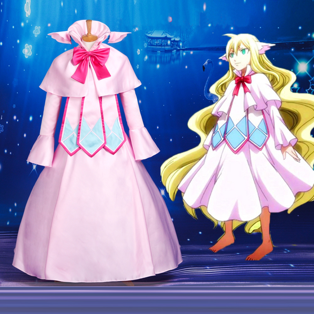 ⑧Anime Fairy Tail Mavis Vermilion Cosplay carnaval disfraces de ...
