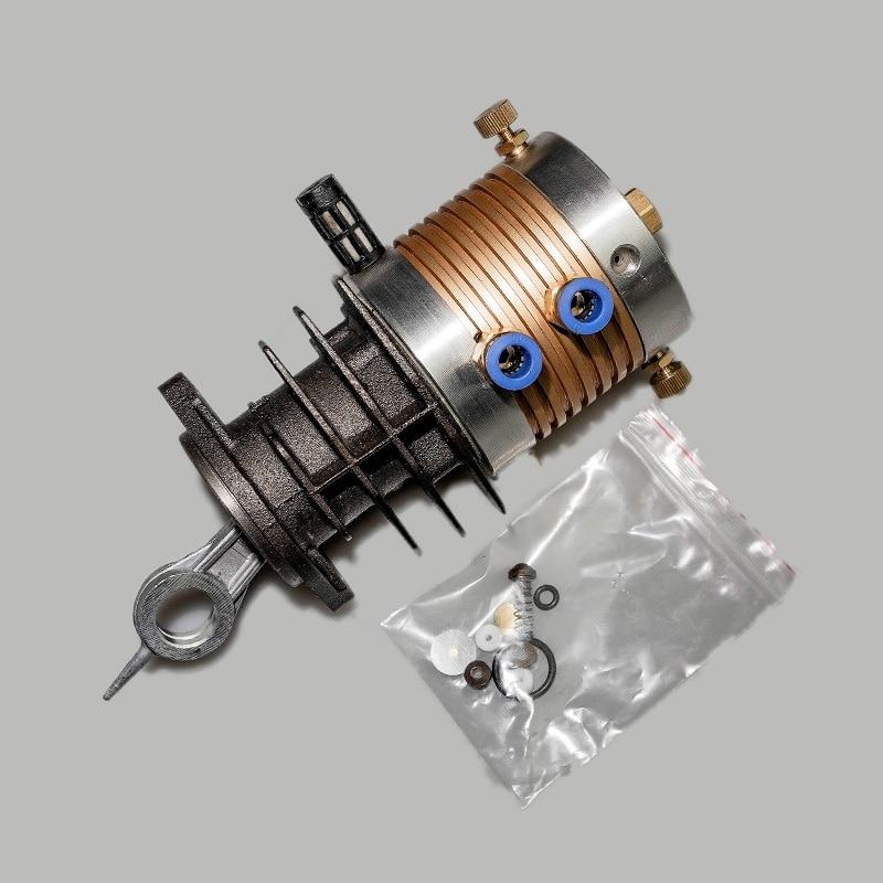 High-pressure Air Compressor 30mpa Repair Parts 40mpa Electric Air Pump Air Pump High Pressure Cylinder Head Set