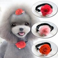 Esclusivo del cane di Peluche VIP, completo, cravatta 3 colori pet capelli Della Principessa Fiore Ornamento Cane cravatta pet collare