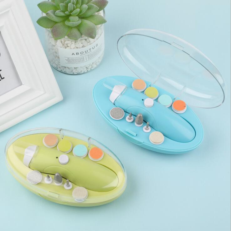 Usb Charging Electric Baby Nail Trimmer Manicure Pedicure Clipper Nail Care Security Cutter Scissors Providing Amenities For The People; Making Life Easier For The Population