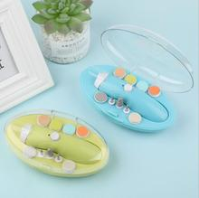 USB Charging Electric Baby Nail Trimmer Manicure Pedicure Clipper Nail Care Security Cutter Scissors electric baby nail clipper professional baby scissors baby nail care safe nail trimmer cutter for kids infant newborn manicure