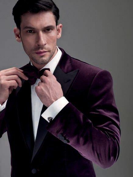 Latest Coat Pant Designs Purple Velvet Men Wedding Suits Slim Fit 2 Piece Tuxedo Custom Groom Prom Suit BlazerTerno Masculino