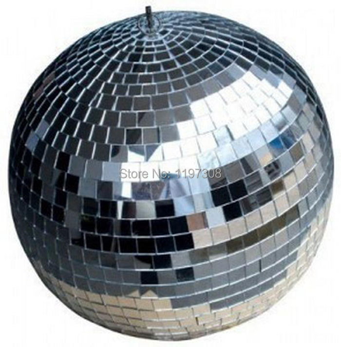 D20cm Clear Glass Rotating Mirror Ball 8