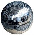 """D20cm rotativa bola de espelhos de vidro transparente 8 """"discoteca DJ festa em casa palco KTV Bares loja do feriado decoração X'mas bolas bolas de Discoteca DJ"""