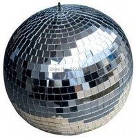 20cm Diameter Clear Glass Rotating Mirror Ball 8 Disco DJ Party Lighting ABC MB 8inch
