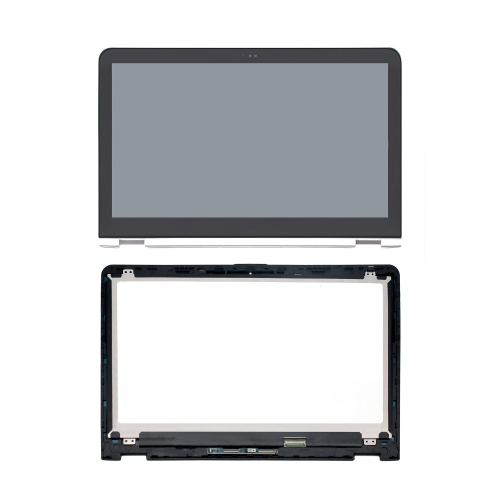 Bezel For HP ENVY X360 15-W000 15-W100 Touch Screen Digitizer Front Glass Panel