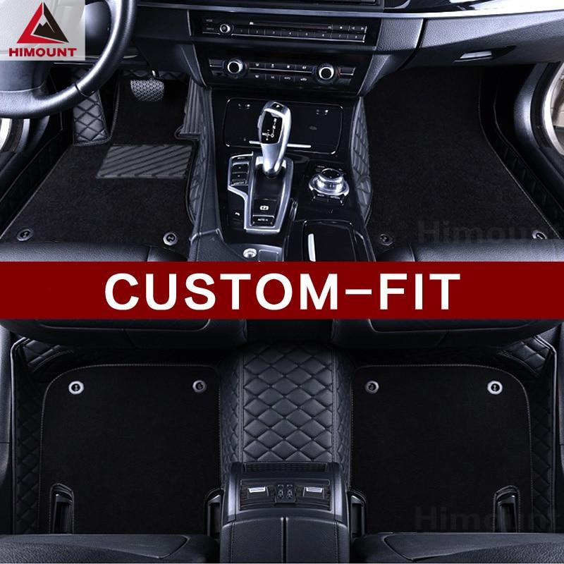 Custom made car floor mat specially for VW Volkswagen Golf 4 5 6 7 MK4 MK5 MK6 MK7 Passat CC Touareg Touran UP all weather rugs