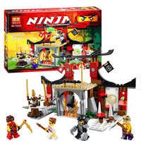 Ninjago 10319 Duel Ninjutsu gamme de conduite kits de construction de modèles compatibles avec legoe ninjagoes jouets éducatifs pour les enfants