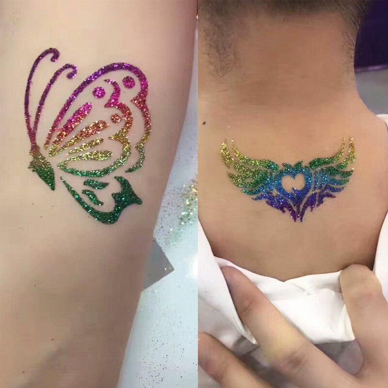 Tanie Body Art Glitter Tatuaż Zestaw 118 Wz Oacuter