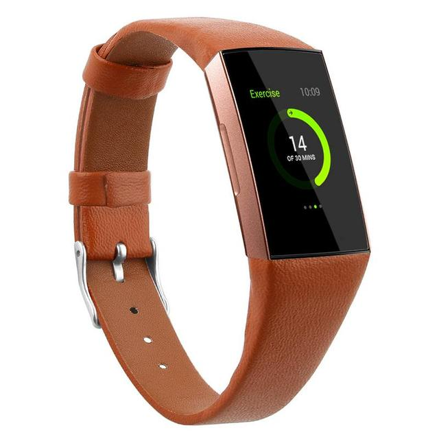 Fitbit Charge 3 Genuine Leather Strap