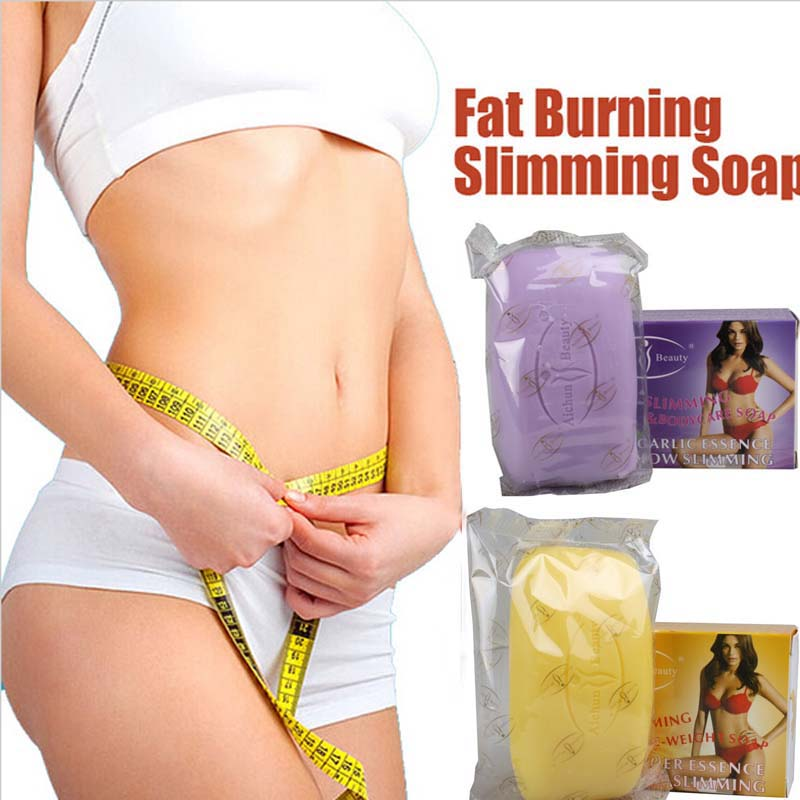 100G Weight Loss Soap Fat Slimming Soap Pepper Green Tea Ginger Garlic Smell Slimming Cream Moisturizing Soap Fat Buring Product