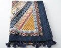Женские шарфы 2016, чешский, цветок печати платок, цветочный хиджаб, плед шарф, хлопок кисточкой шали, геометрические шарф, Мусульманский хиджаб, глушитель