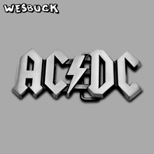 WesBuck Brand ACDC Cutout Rock Heavy Metal Music Belt Buckle With PU Festival Gifts