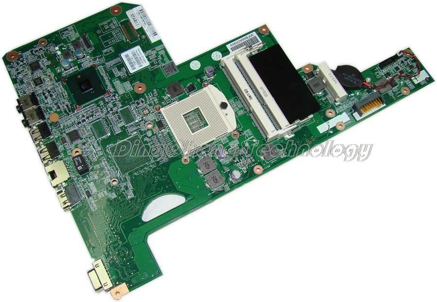 45 days Warranty For hp compaq G72 G62 629122-001 laptop Motherboard for intel cpu with integrated graphics card 100% tested for hp g62 g72 laptop motherboard with graphics 615848 001 01013y000 388 g