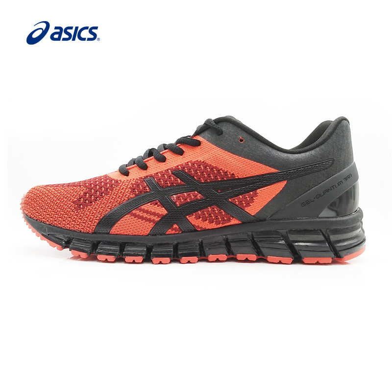 size 40 377ca bda76 Asics GEL-Quantum 360 Cushioning Red Sport Running Shoes For Men T728N 2690