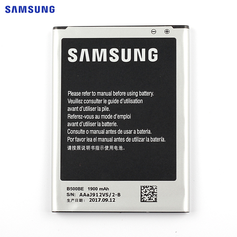 SAMSUNG Original Replacement Battery B500BE B500AE For Samsung GALAXY S4 Mini NFC Project J Mini i9190 i9192 i9198 i9195 1900mAh