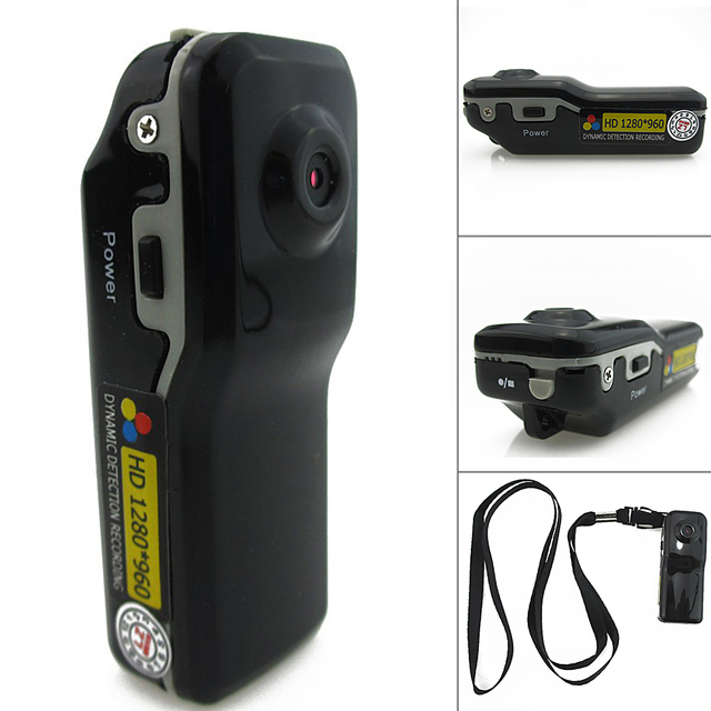 Mini DV HD Action Tiny Camera DVR Sports Portable 1280*960 Video Audio Recorder Supports Light Off/Motion Detection/Works