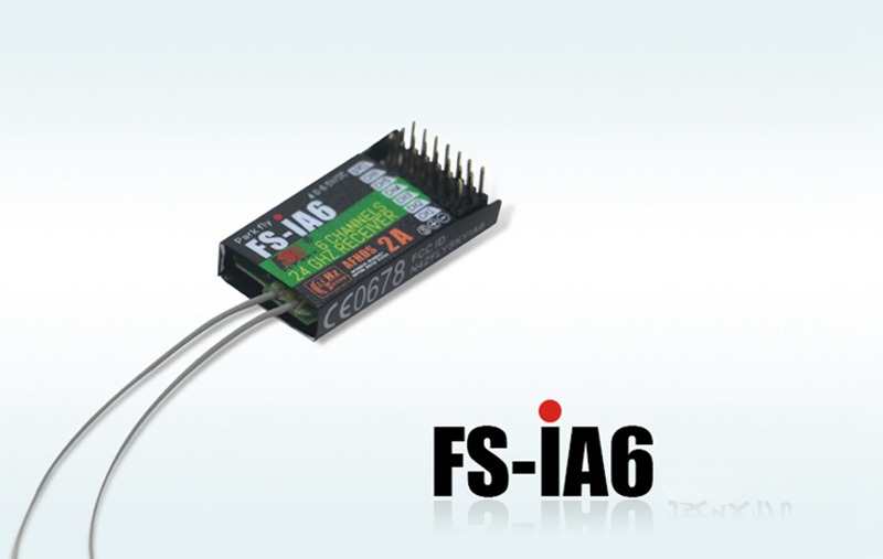 Flysky FS-iA6B 2.4G 6 Channel Remote Control Receiver for GT2E GT2F GT2G RC285 S