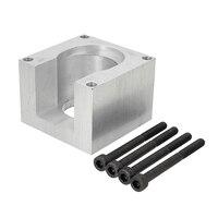 Nema 23 Stappenmotor Aluminium Mount Klem Beugel Met 4 Schroef Voor CNC Graveermachine Plasma Snijmachine