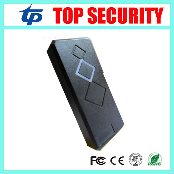 Good quality free shipping 10pcs RFID card reader EM card 125KHZ smart card reader for door access control system good quality fingerprint access control with smart rfid card reader mini power supply and 600lbs magnetic lock