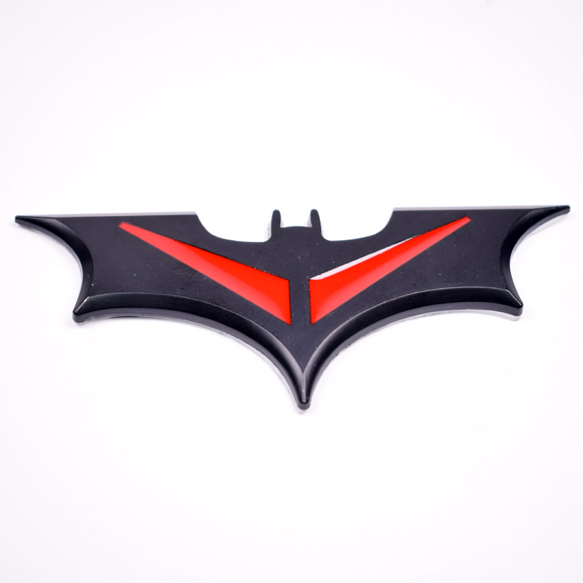 3 Colors Auto Car Bat Batman Fender Side Tail Trunk Emblem Badge Decal Sticker Car-styling Covers For Universal Car use ...