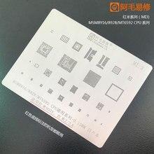 High quanlity BGA reballing Solder template stencil Chipset for xiaomi Redmi not