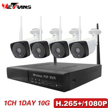 Security Camera System H 265 Wireless NVR 1080P Full HD font b Outdoor b font Camera