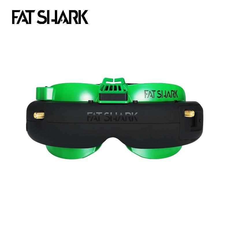 Fatshark Attitude V5 OLED 5.8Ghz True RF Support DVR AV-IN/OUT Diversity FPV Goggles For FPV RC Drone RC Parts Multirotor Accs