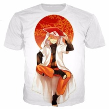 PLstar Cosmos Naruto summer t shirts Dragon Ball Kid T Men unisex Anime 3D Print T-shirts teens child boys Cosplay Tees