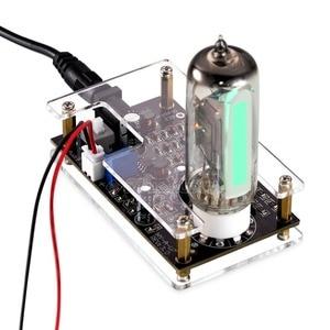 Image 2 - Nobsound HiFi Mini Magic Eye 6E2 EM87 Preamp หลอดเสียงตัวบ่งชี้ระดับ VU Meter Driver บอร์ดกรณี