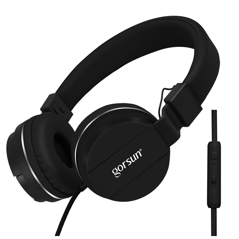 Big Discount!High Quality Headband Headphones 3.5mm Earphone Headset Stereo Noise Isolating With Mic for MP3 MP4 Cellphone Hot