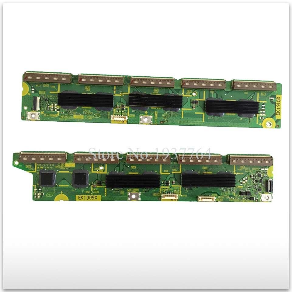 new a pair Original TH-P50U30C buffer board TNPA5337 AG TNPA5336 TNPA5336AG ems dhl original th 42pz80c th 42pz800c power supply board etx2mm702mf npx702mf 1a