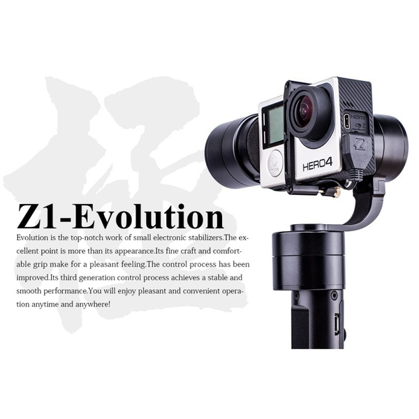 Zhiyun Z1 EVOLUTION EVO 3 Axis Handheld Stabilizer Brushless Gimbal For GoPro Hero 4 XiaoMi Yi