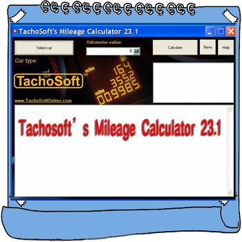 Najnowszy Tachosoft kalkulator milowy V23 1 wsparcie wielu marek samochodów tanie i dobre opinie achosoft Mileage Calculator Oprogramowanie alansh none windown xp 7 8 10