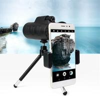 Super sell Infrared Telescope Digital Powerful Monocular 40X60 Zoom Monocular Telescope For Smartphone With Tripod