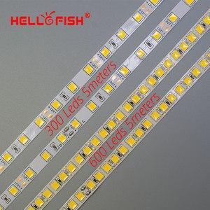 Image 2 - LED Strip Light LED tape backlight 12V 5m 600 LED 5054 300 LED strip kitchen white warm white