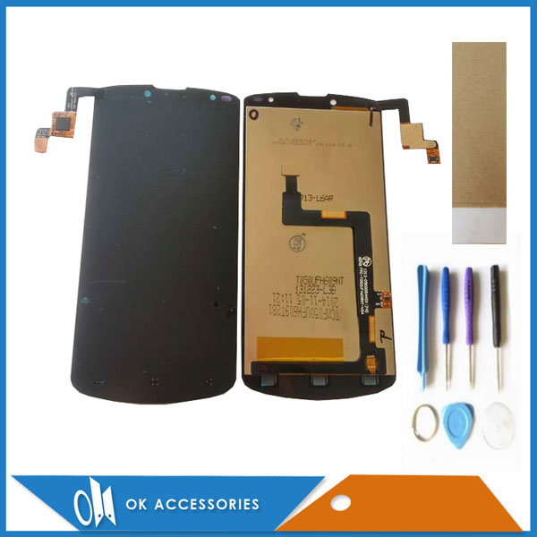 For Prestigio MultiPhone PAP 7500 PAP7500 LCD Screen Display+Touch Screen Digitizer Black Color With Tools Tape 1PC /Lot