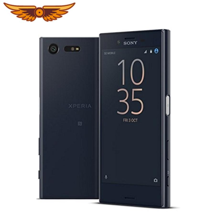 Оригинальный разблокированный смартфон Sony Xperia X Compact F5321 Mini, 4,6 дюйма, 4G, 3 Гб ОЗУ, 32 Гб ПЗУ, Wi-Fi, камера 23 МП, GSM, Android, б/у смартфон